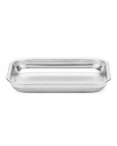Steel Pan Teglia rettangolare bassa