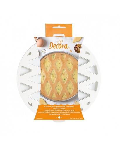 Decora Griglia tagliapasta per crostata e pastiera