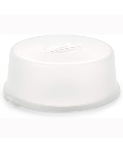 Emsa Basic porta torta bianco
