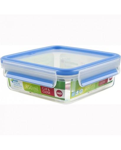 Emsa Clip & Close contenitore salvafreschezza quadrato 0,85 l