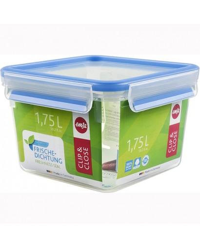 Emsa Clip & Close contenitore salvafreschezza quadrato 1,75 l