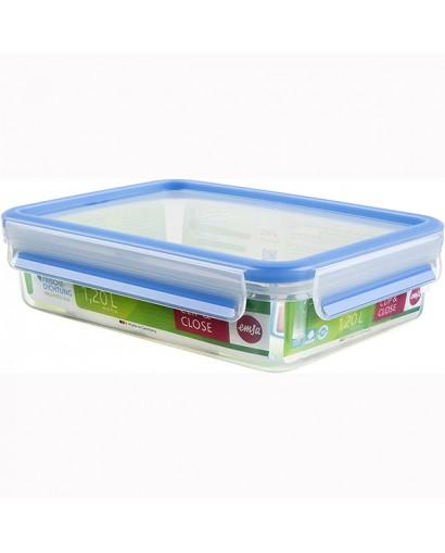 Emsa Clip & Close contenitore salvafreschezza rettangolare 1,20 l