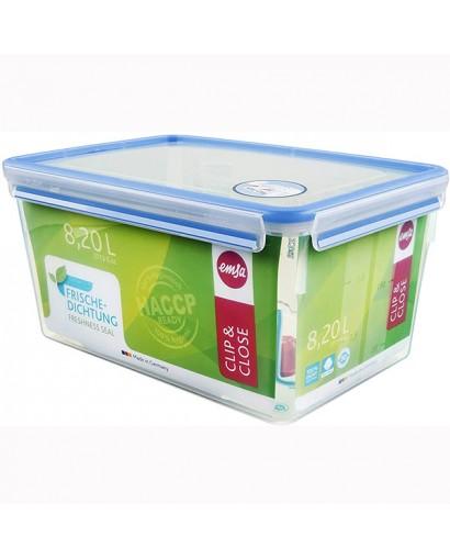 Emsa Clip & Close contenitore salvafreschezza rettangolare 8,20 l