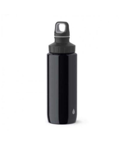 Emsa Drink2Go Light Steel borraccia nera 0,6 l