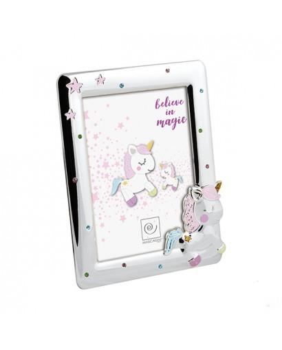 Mascagni Kids portafoto in metallo rosa 13 x 18